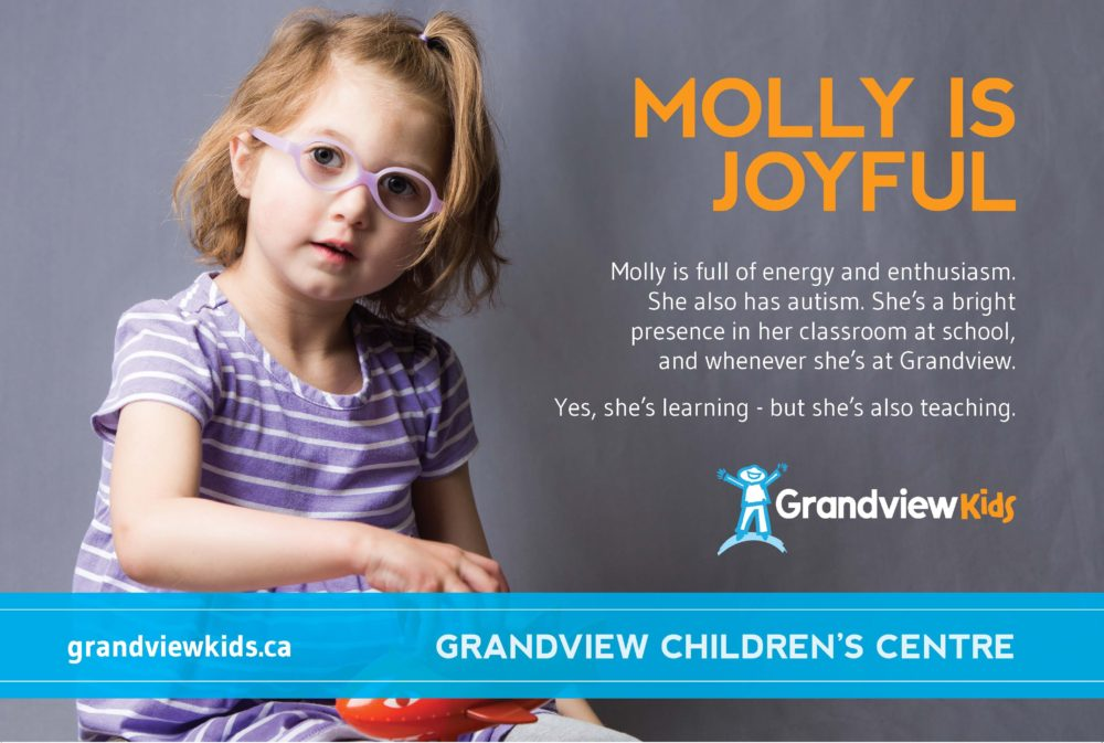 Grandview Kid Molly - Believe Campaign